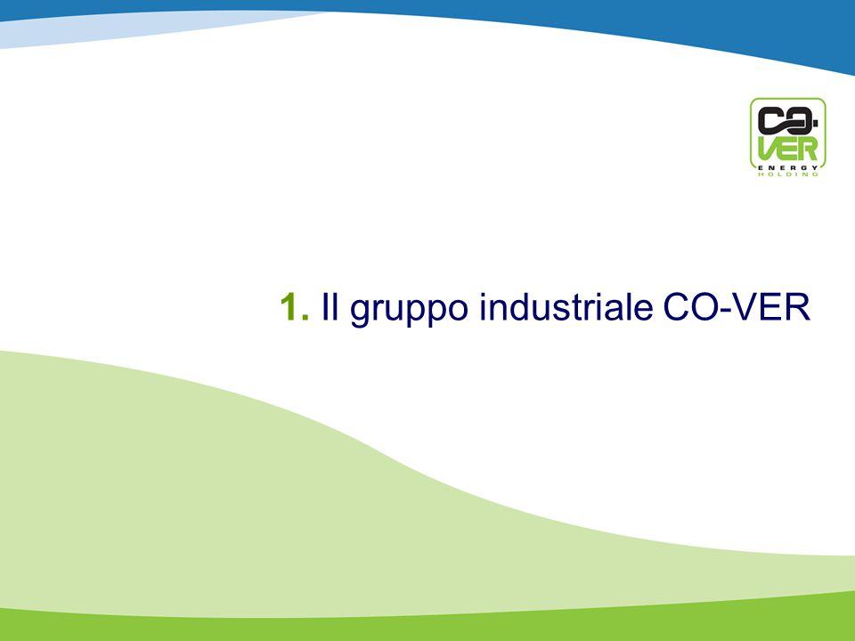 1. Il gruppo industriale CO-VER