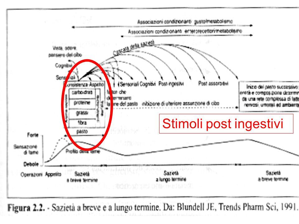 Stimoli post ingestivi
