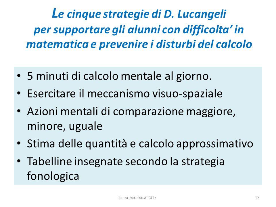 Le cinque strategie di D