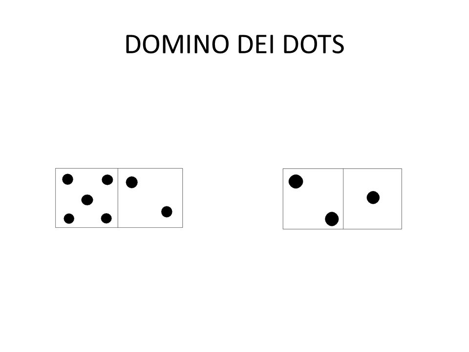 DOMINO DEI DOTS
