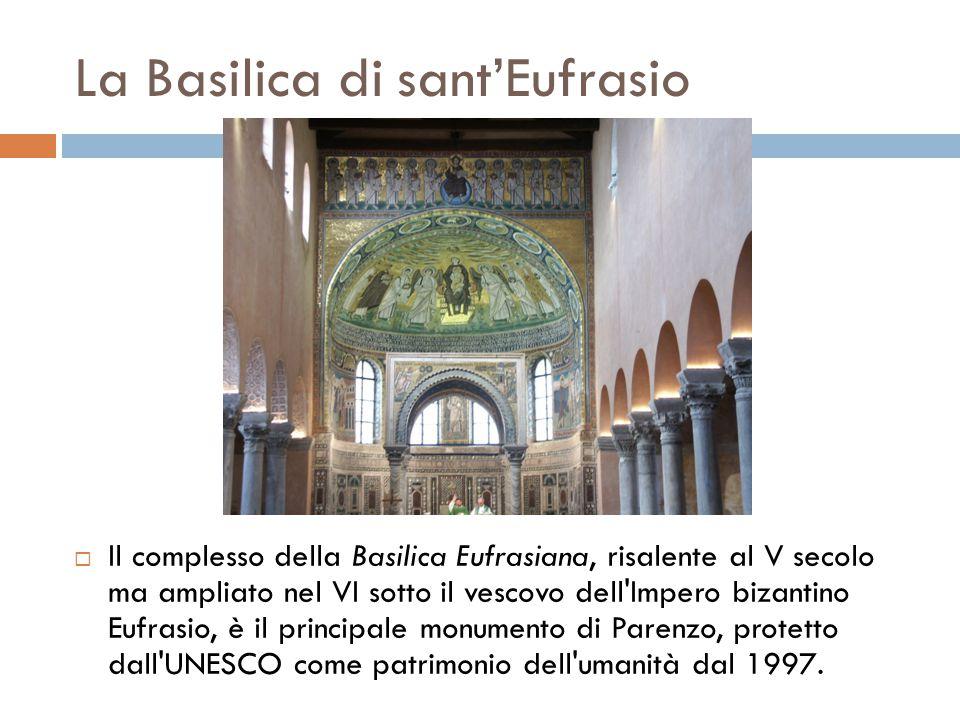 La Basilica di sant'Eufrasio