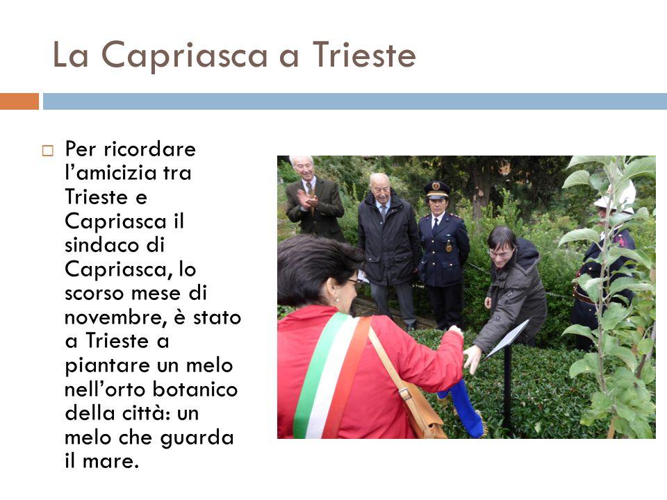 La Capriasca a Trieste