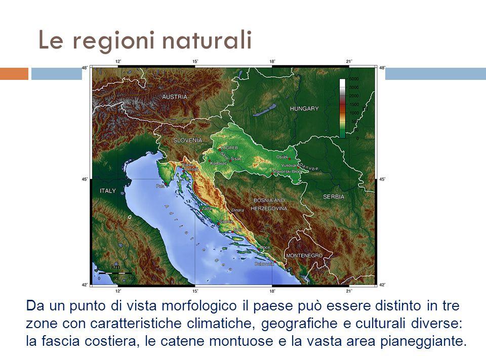 Le regioni naturali
