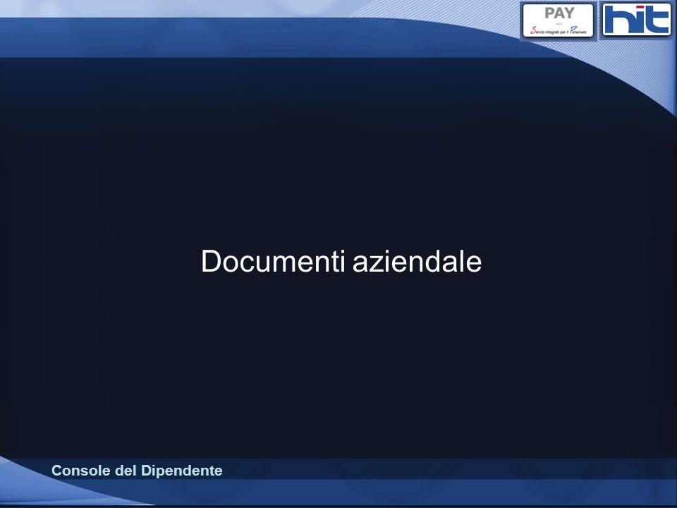 Documenti aziendale