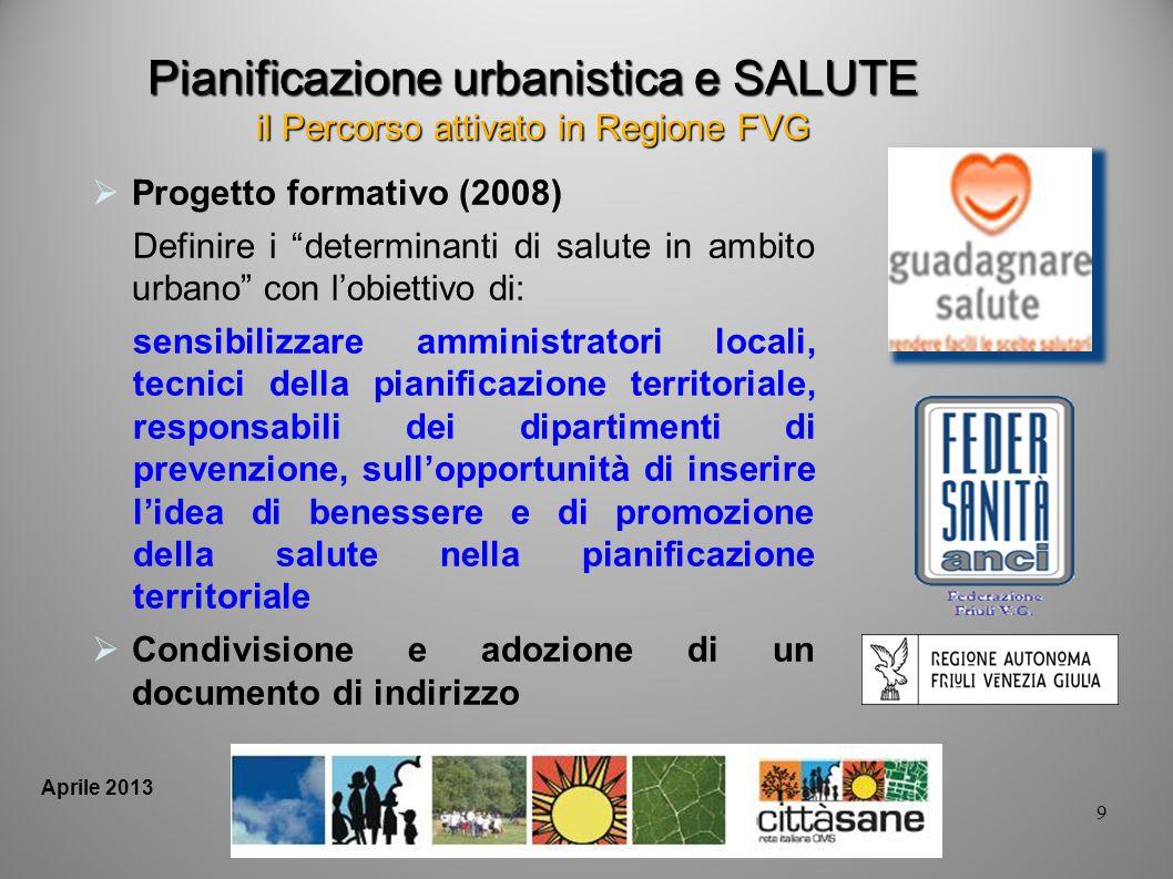 Pianificazione urbanistica e SALUTE