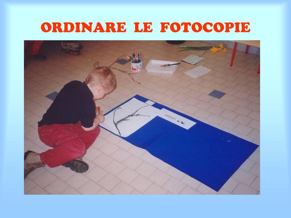 ORDINARE LE FOTOCOPIE