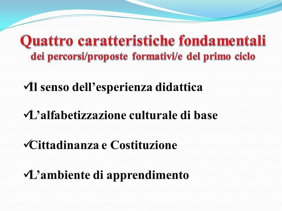 Quattro caratteristiche fondamentali