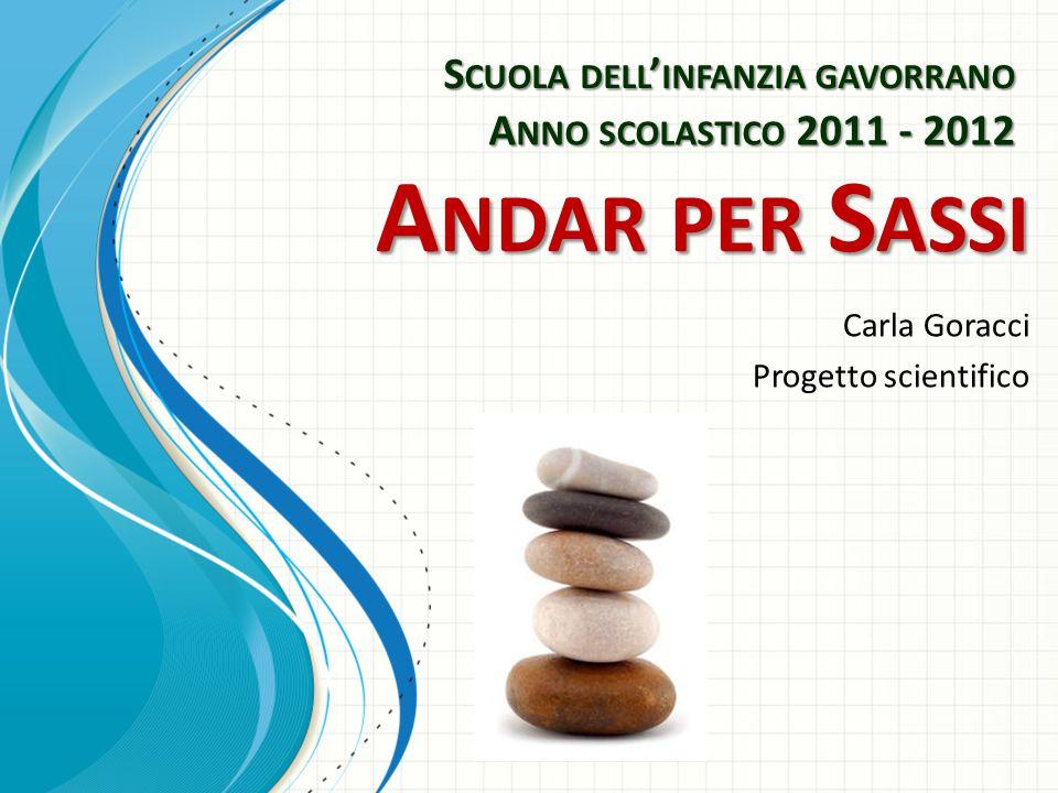 Carla Goracci Progetto scientifico