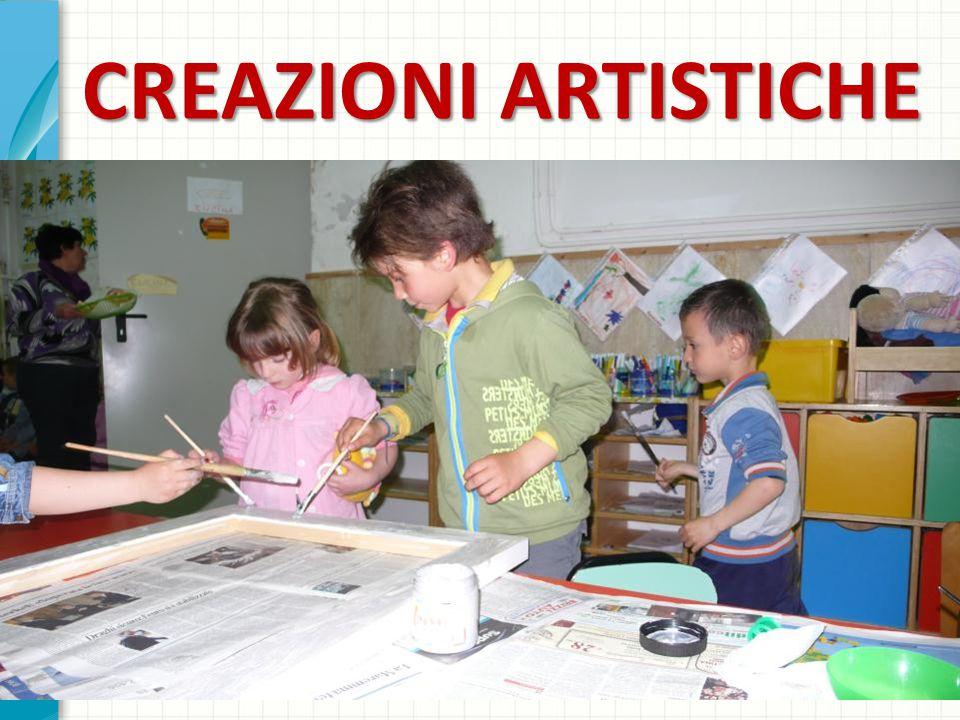 CREAZIONI ARTISTICHE