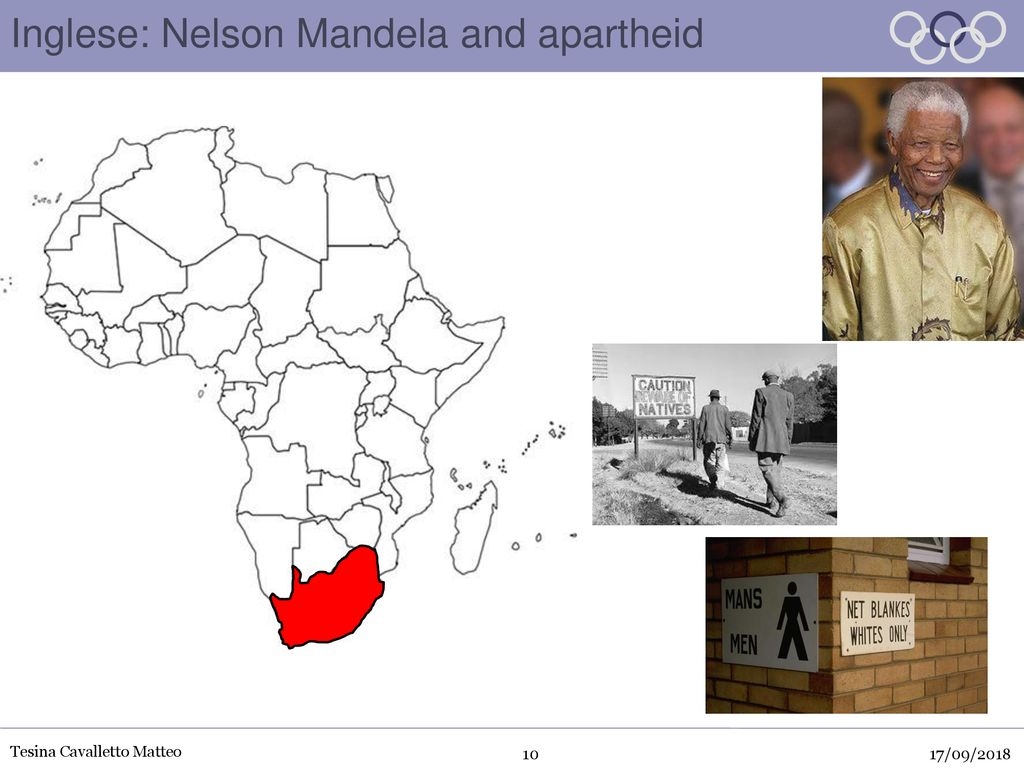 Inglese: Nelson Mandela and apartheid