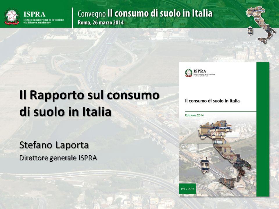 Il Rapporto sul consumo di suolo in Italia