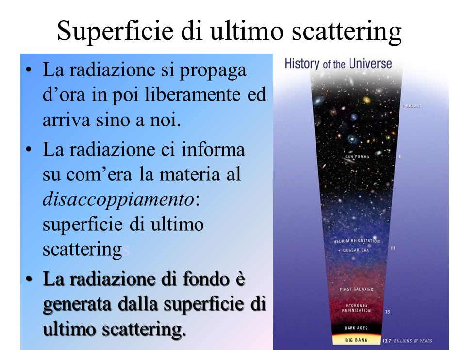 Superficie di ultimo scattering