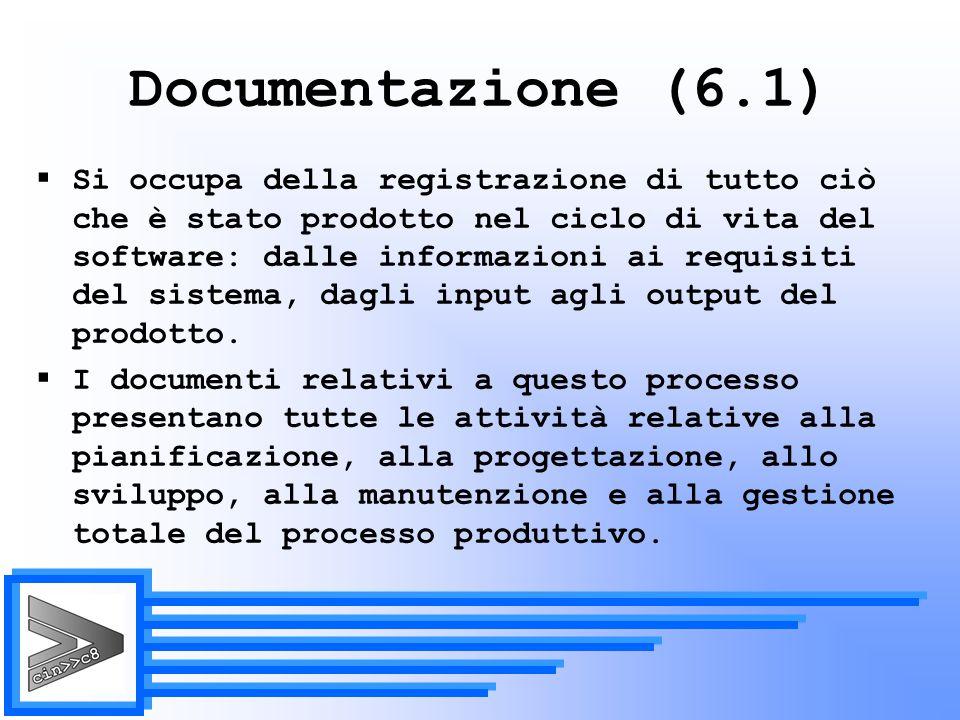 Documentazione (6.1)