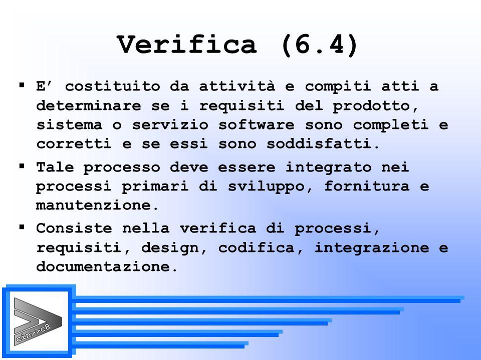 Verifica (6.4)