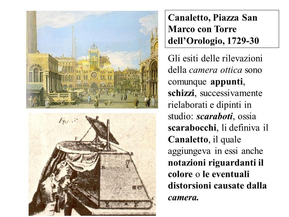 Canaletto, Piazza San Marco con Torre dell'Orologio, 1729-30