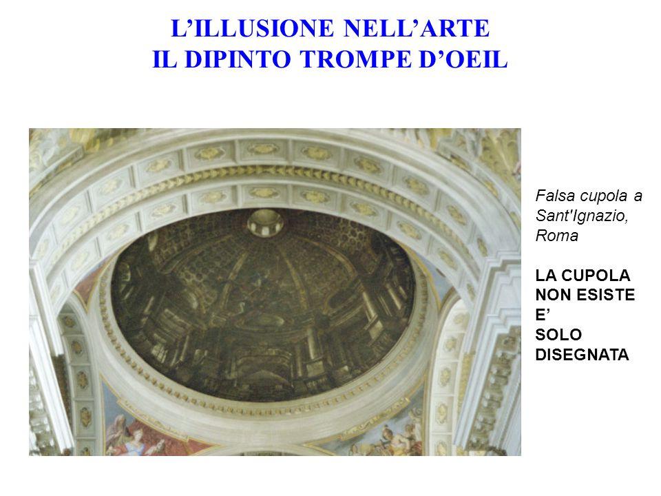 L'ILLUSIONE NELL'ARTE IL DIPINTO TROMPE D'OEIL
