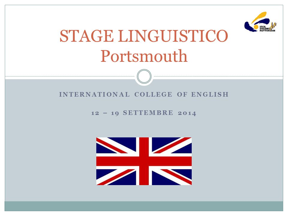 STAGE LINGUISTICO Portsmouth