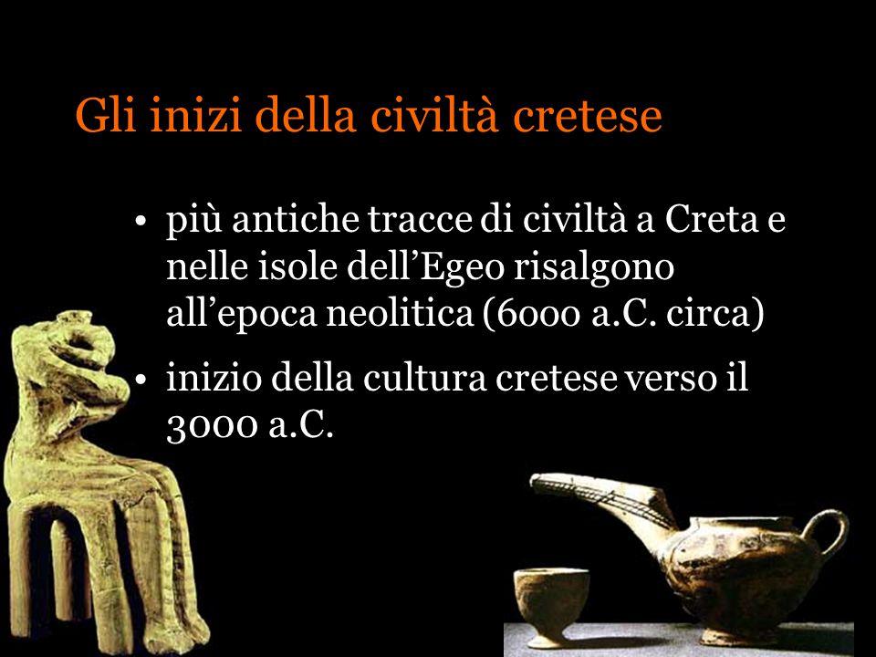 Gli inizi della civiltà cretese