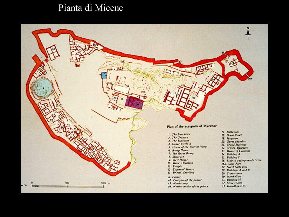 Pianta di Micene