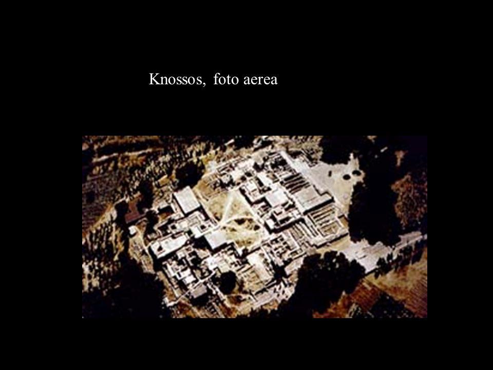 Knossos, foto aerea