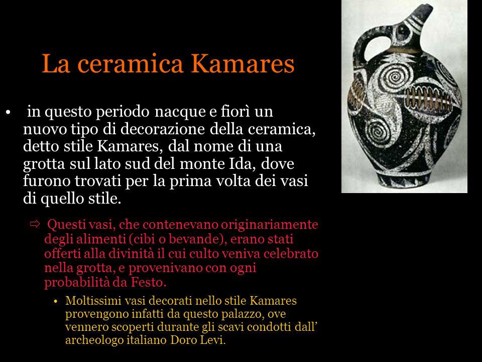 La ceramica Kamares