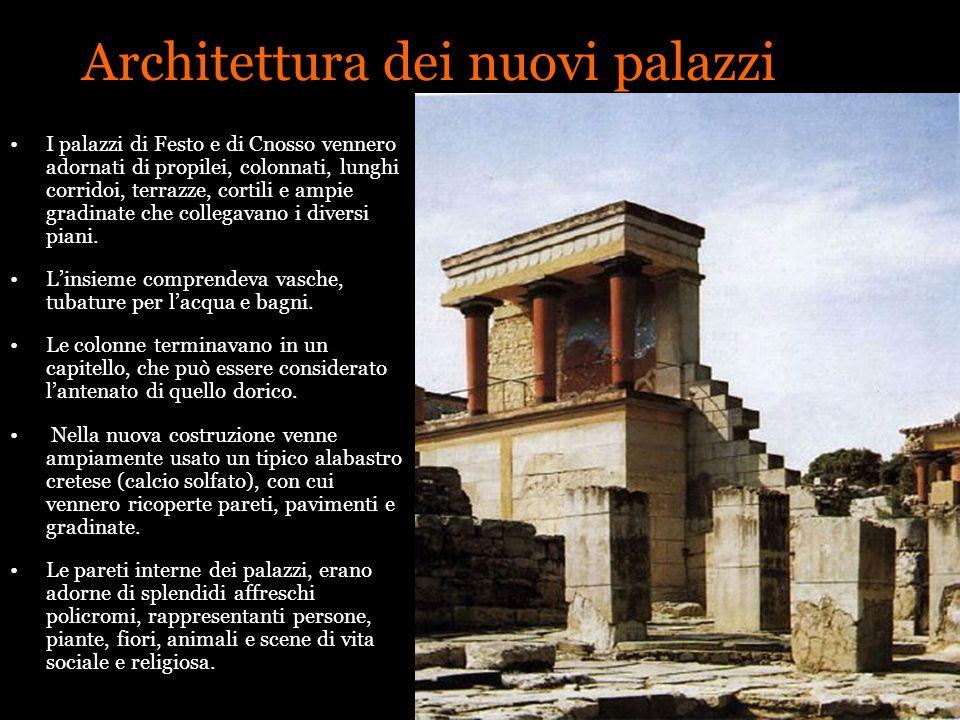 Architettura dei nuovi palazzi