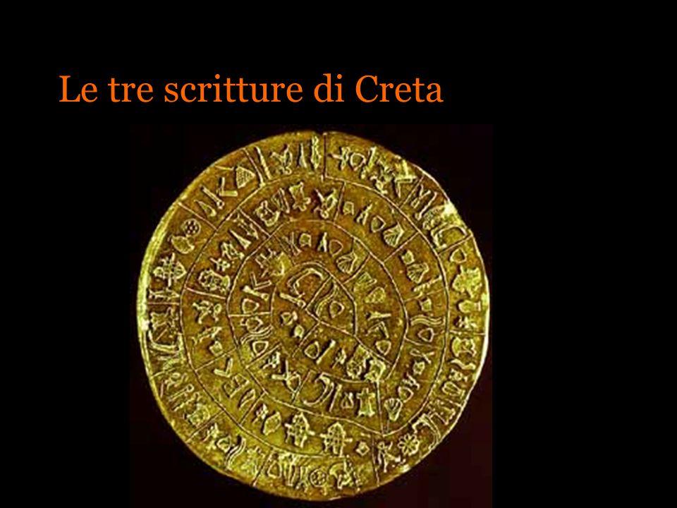 Le tre scritture di Creta