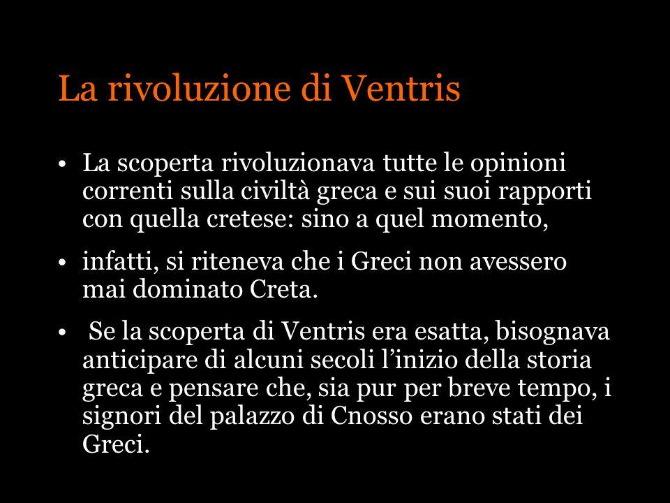 La rivoluzione di Ventris