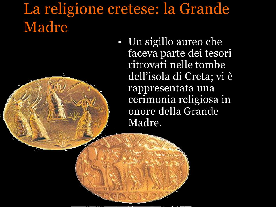 La religione cretese: la Grande Madre