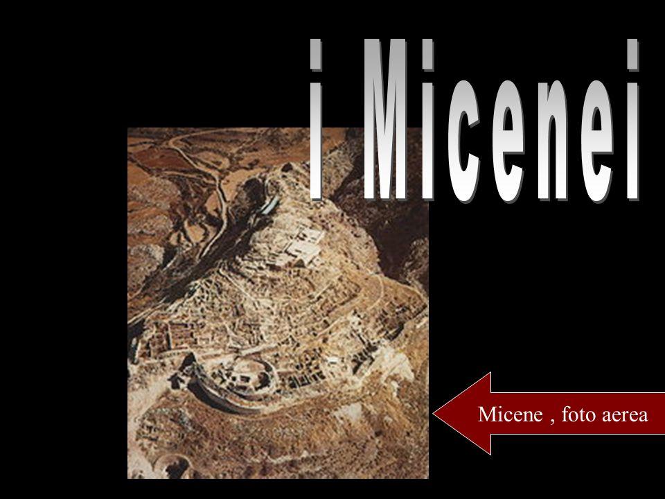 i Micenei Micene , foto aerea