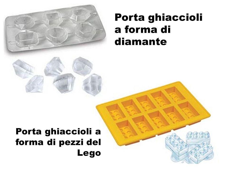 Porta ghiaccioli a forma di diamante