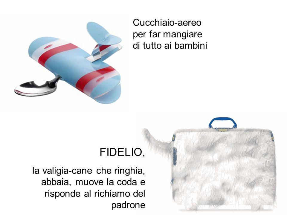 FIDELIO, Cucchiaio-aereo per far mangiare di tutto ai bambini