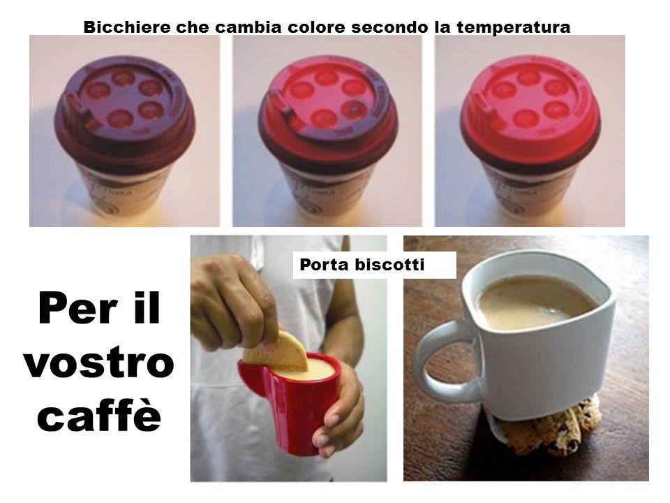 Per il vostro caffè Bicchiere che cambia colore secondo la temperatura