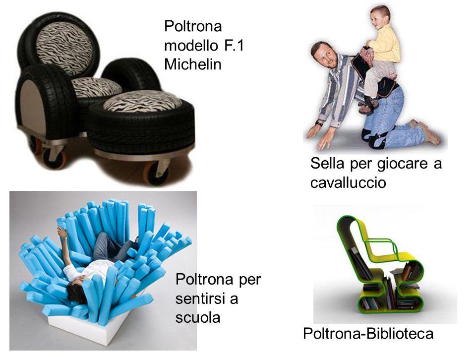 Poltrona modello F.1 Michelin