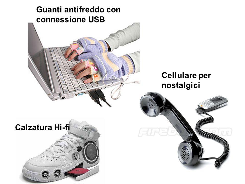 Guanti antifreddo con connessione USB