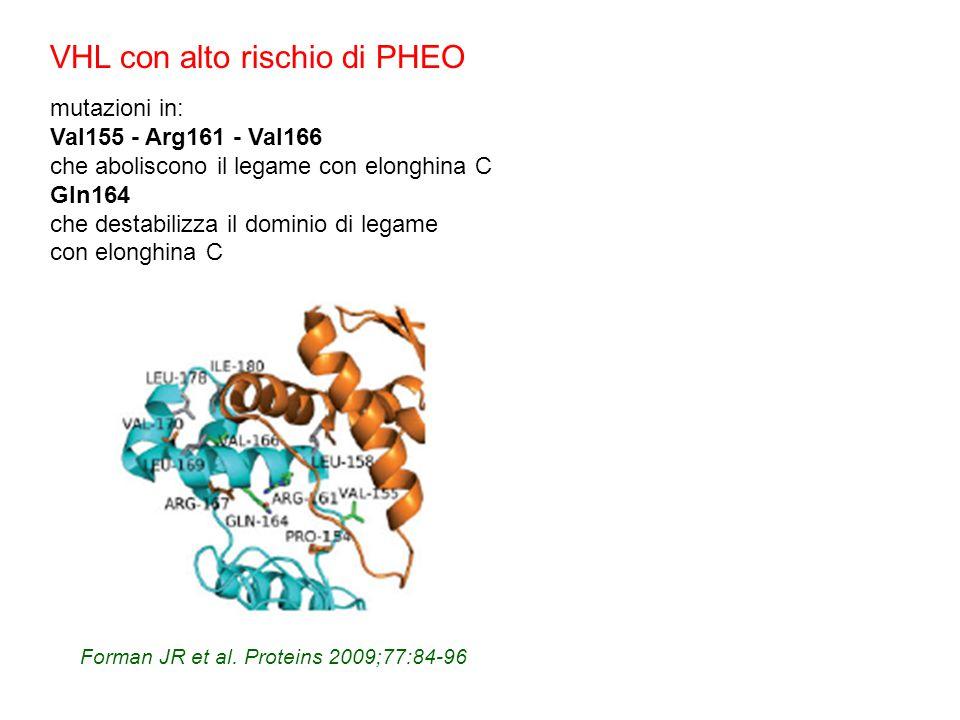 VHL con alto rischio di PHEO
