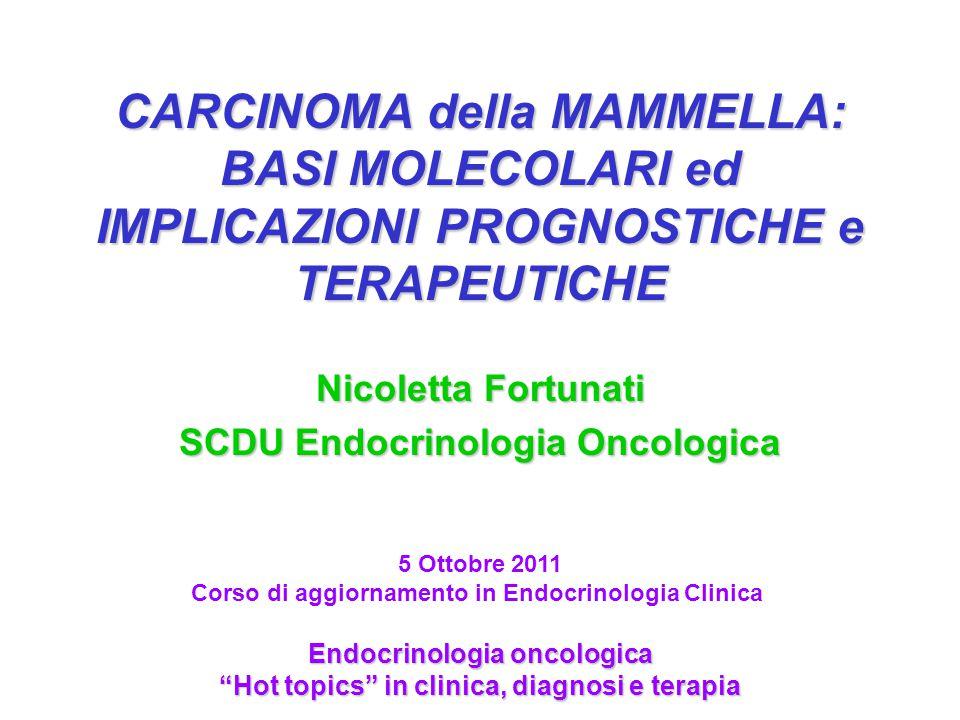 Nicoletta Fortunati SCDU Endocrinologia Oncologica