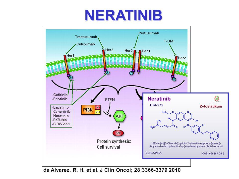 NERATINIB da Alvarez, R. H. et al. J Clin Oncol; 28:3366-3379 2010