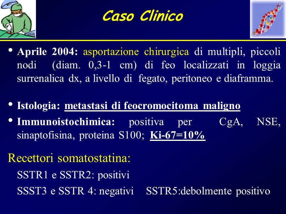 Caso Clinico Recettori somatostatina: