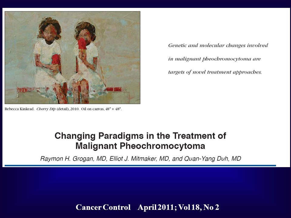 Cancer Control April 2011; Vol 18, No 2