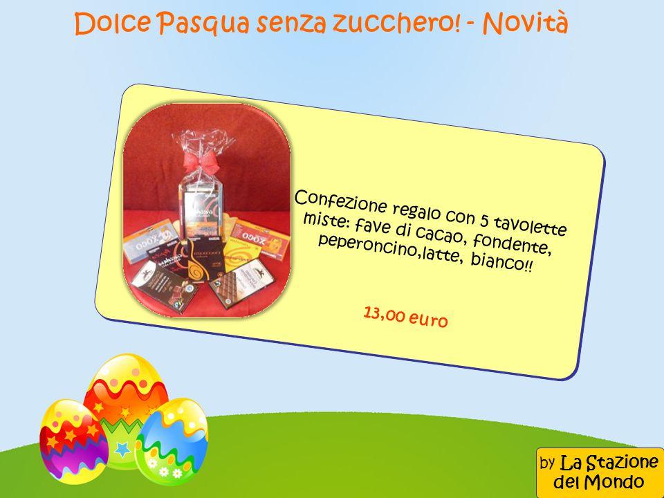 Dolce Pasqua senza zucchero! - Novità