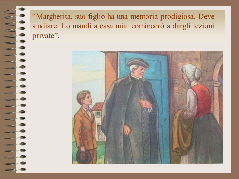 Margherita, suo figlio ha una memoria prodigiosa. Deve studiare