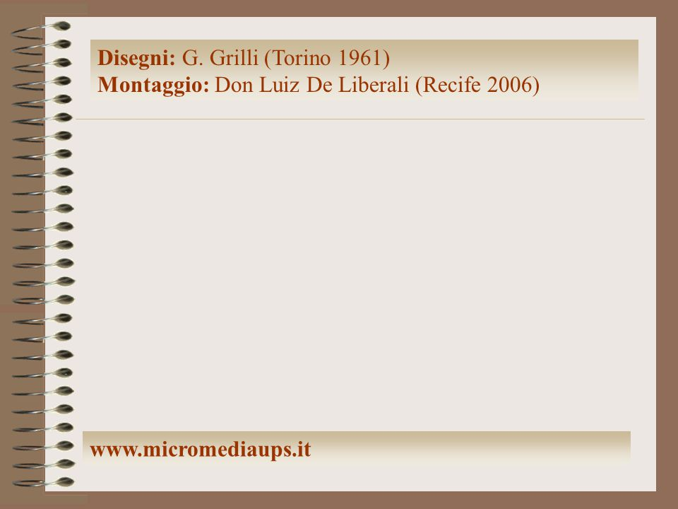 Disegni: G. Grilli (Torino 1961)