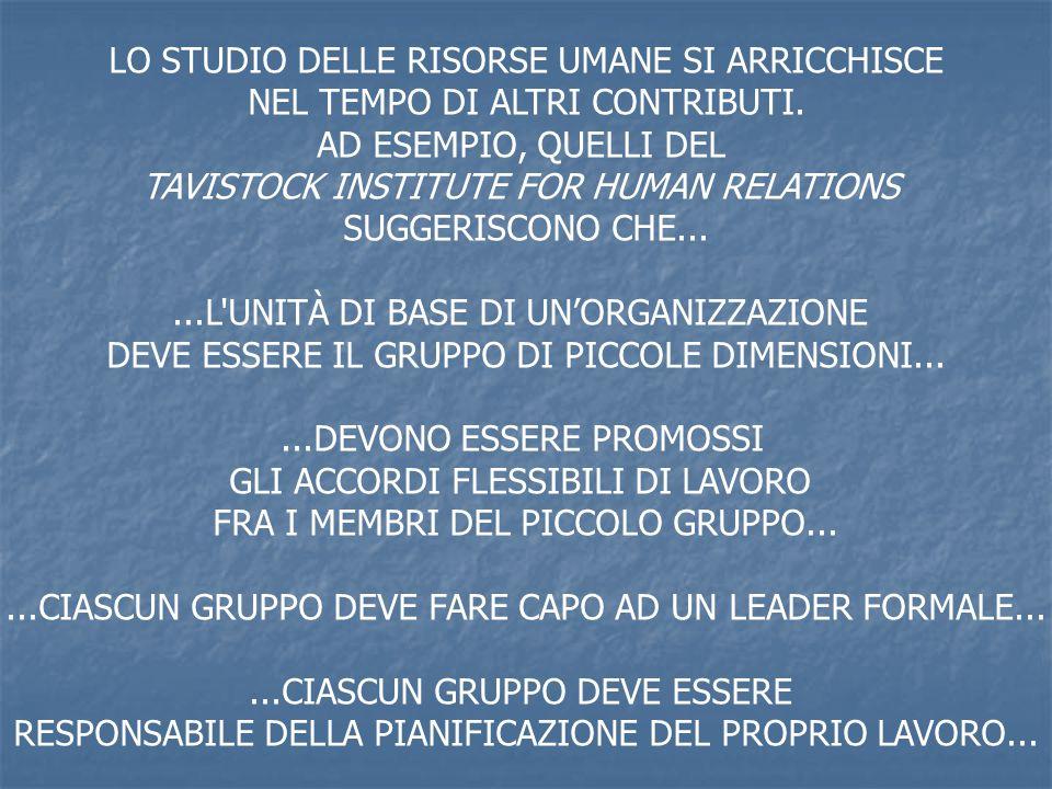 LO STUDIO DELLE RISORSE UMANE SI ARRICCHISCE