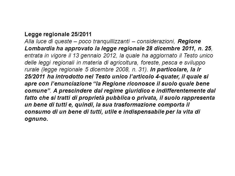 Legge regionale 25/2011