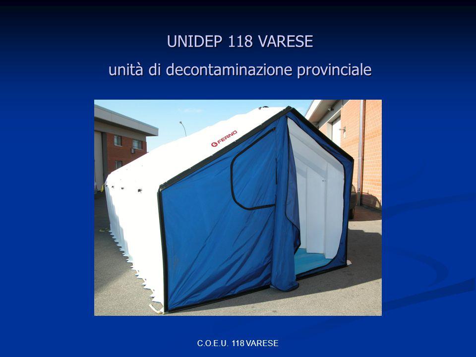 unità di decontaminazione provinciale