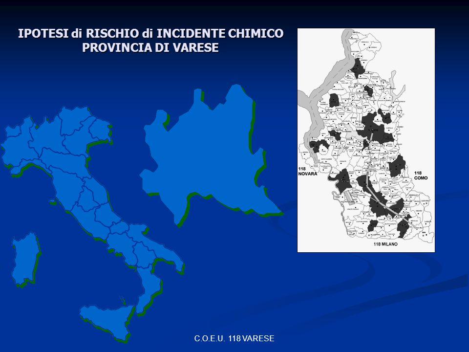 IPOTESI di RISCHIO di INCIDENTE CHIMICO