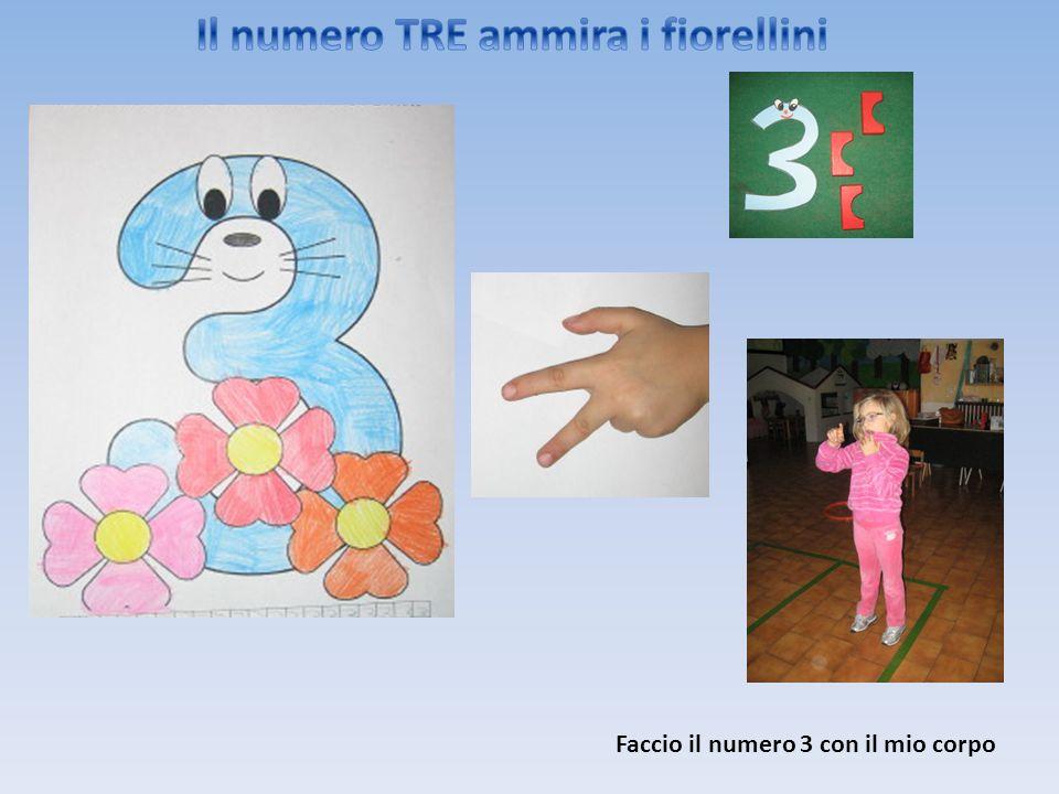 Il numero TRE ammira i fiorellini