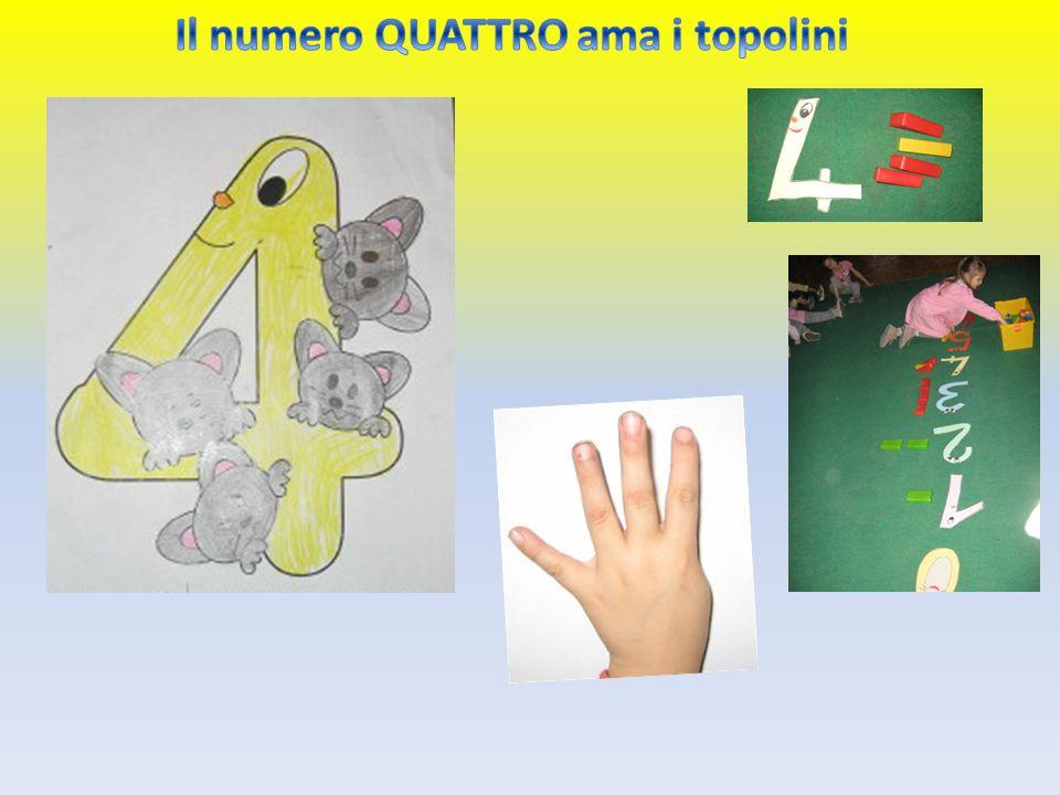 Il numero QUATTRO ama i topolini