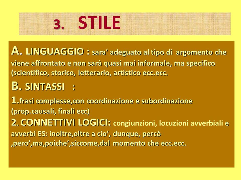 3. STILE